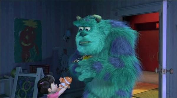 Nemo's appearance in Monsters, Inc. belongs among the top 12 Pixar easter eggs.