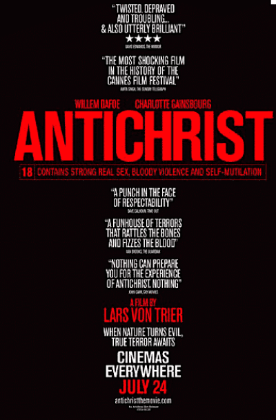 Antichrist is among the movies that should have never been released.