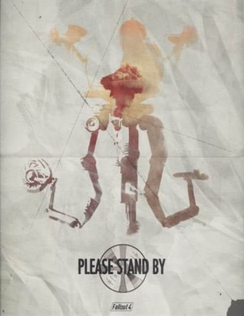 This Fallout 4 poster is a must-have for fans.