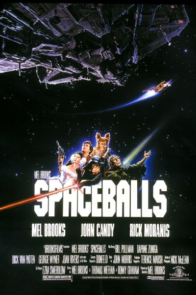 Spaceballs is a parody among the top 6 best comedies from the 80s.