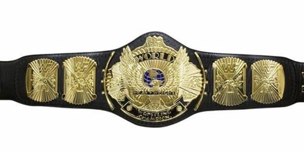 WWE Championship belts - The Old WWE Championship Belt.