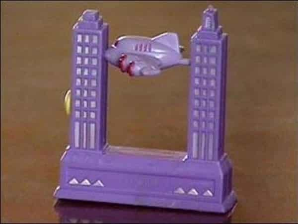 One of the 5 inappropriate real toys was the WTC Plane Toy pictured in this photo.
