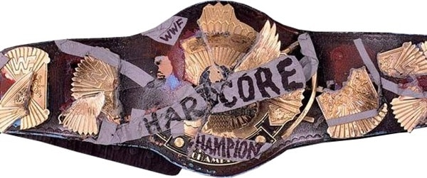 WWE Championship belts - The Hardcore Championship Belt