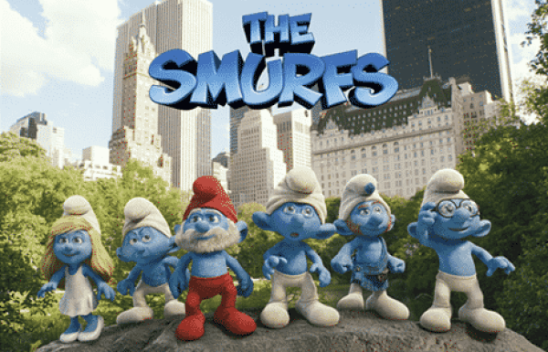 The Smurfs were believed to be demons in disguise.