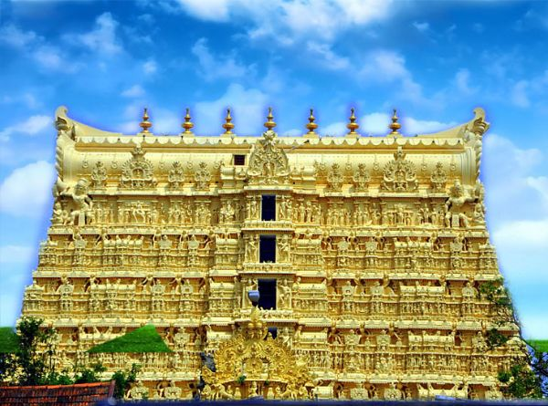 Most Beautiful Temples In Asia Include Padmanabhaswamy