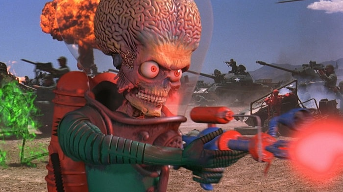 mars attacks movie poster