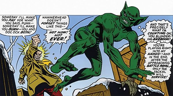 Marvel Spider-Man Reboot - Jackal