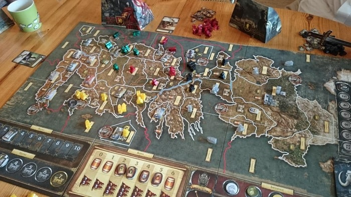 game of thrones boardgame second edition