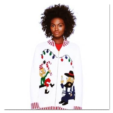 best ugly Christmas sweaters whoopi goldberg sweater