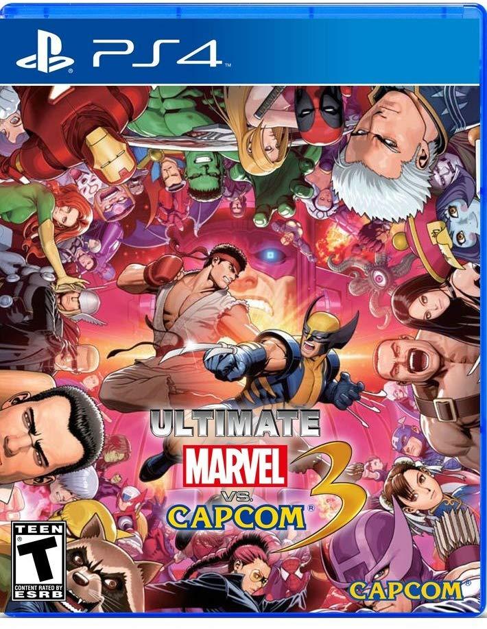 Ultimate Marvel vs Capcom 3 Game