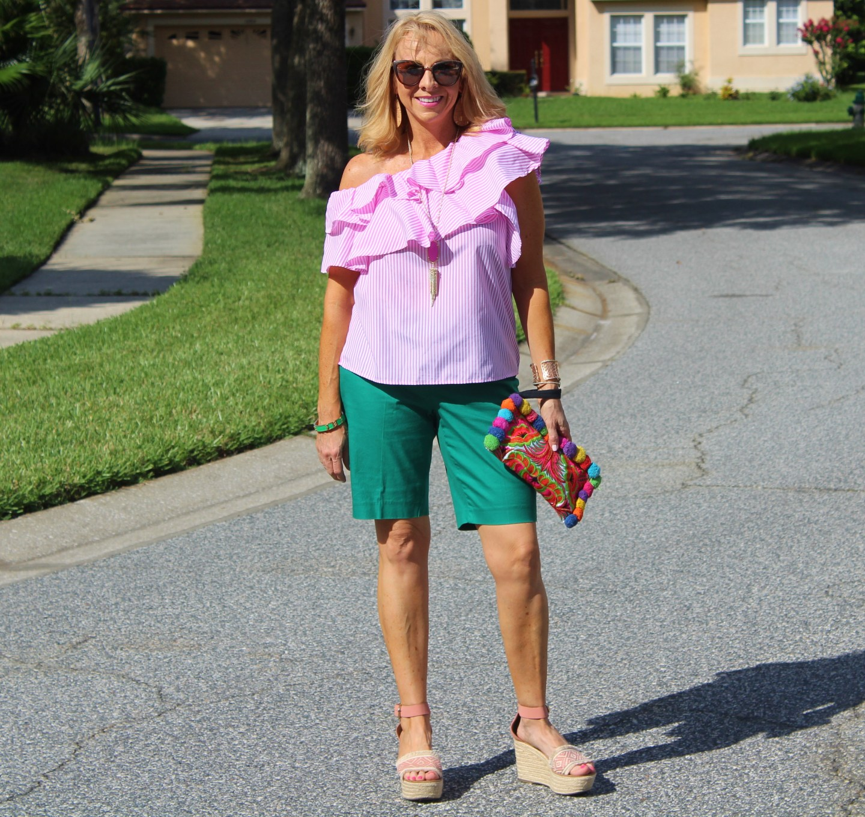 #Green Shorts
