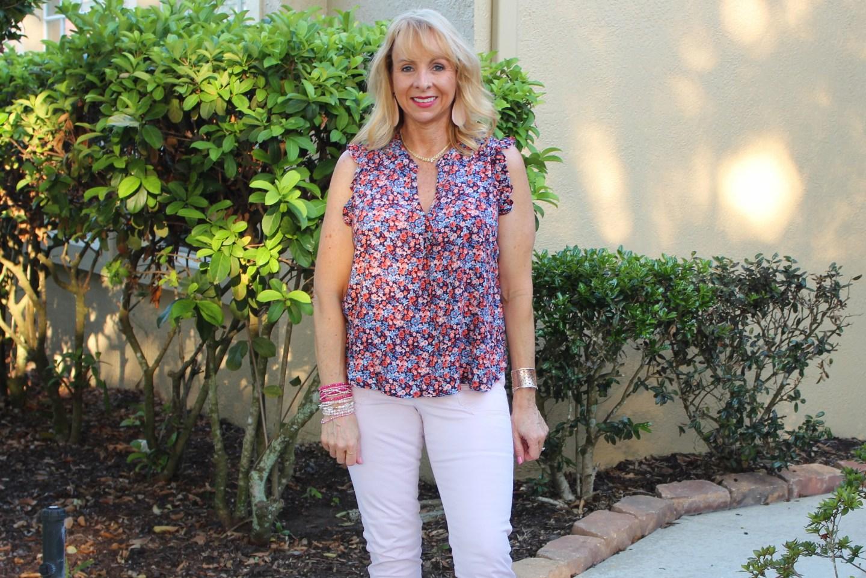 Target sleeveless blouse