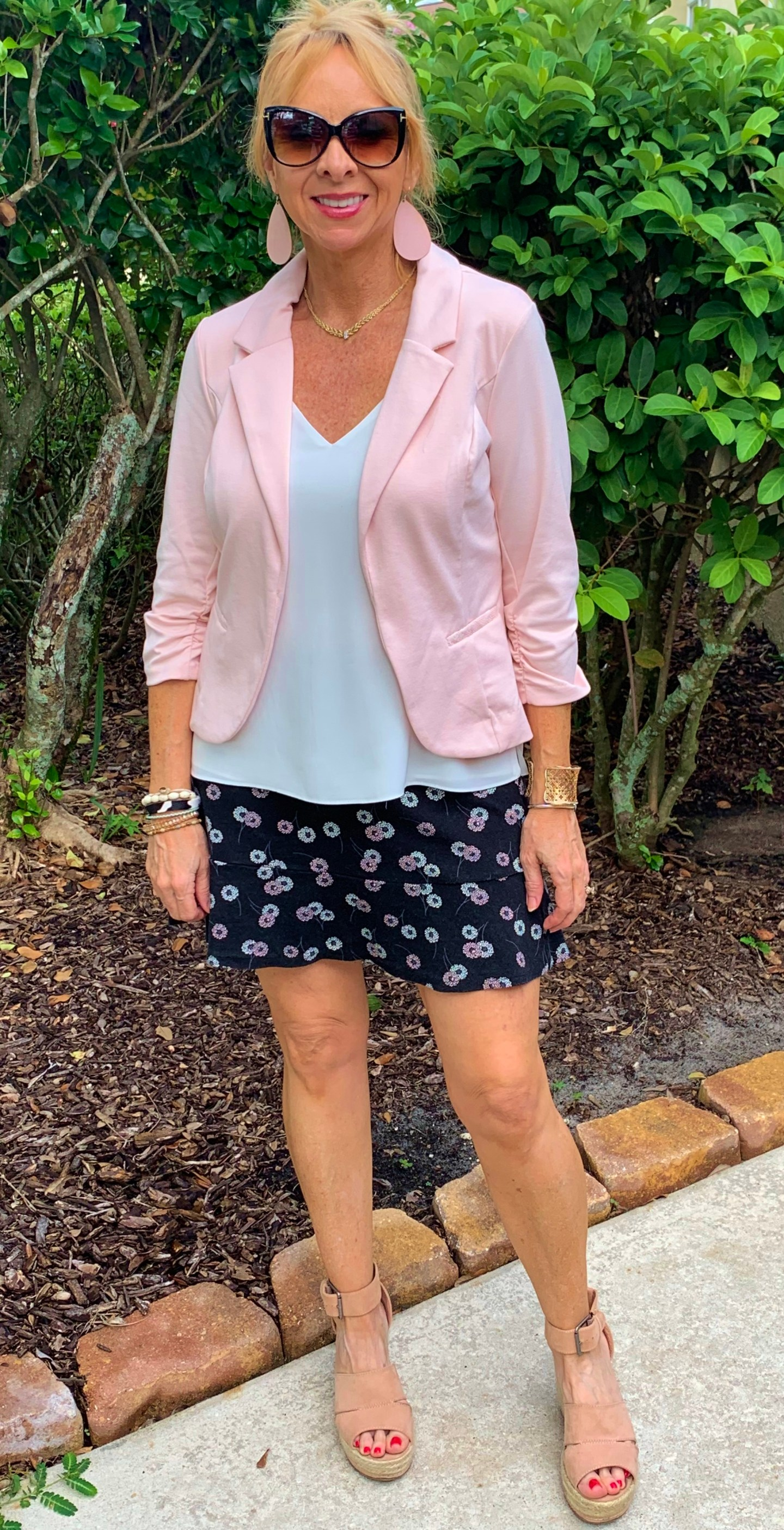 Pink Blazer from Kohl's