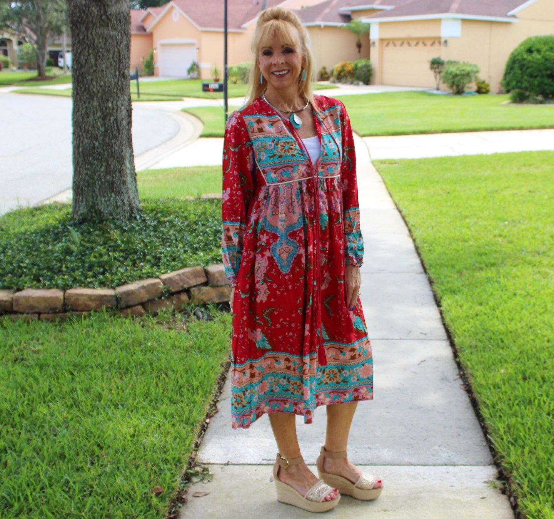 Amazon Boho Dress