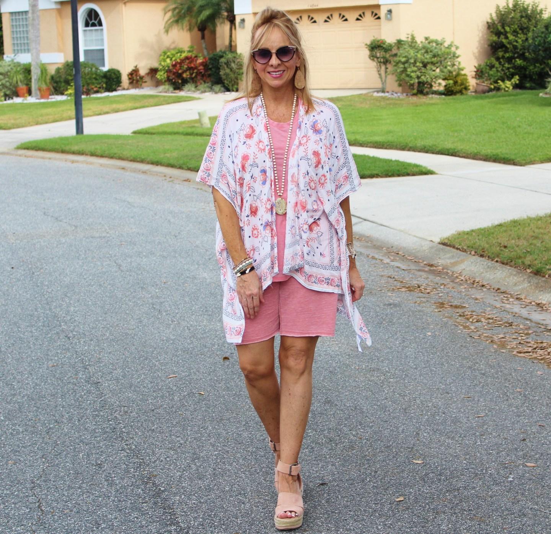 Shorts + Kimono