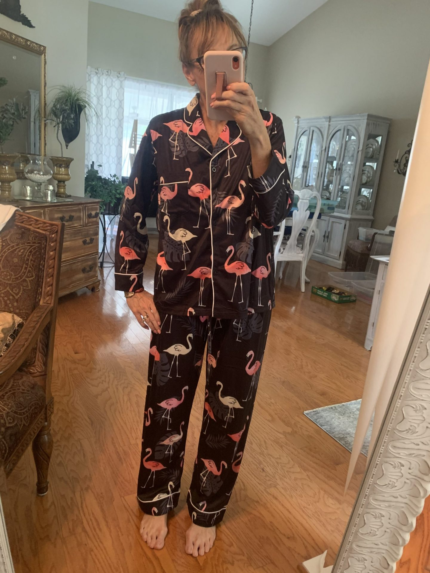 Amazon Flamingo Pajamas