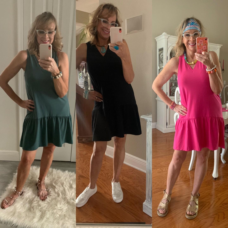 Target Ruffle Hem Short Dress