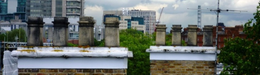 View from my kitchen towards MI6 & the London Eye