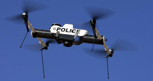 Police spy drones