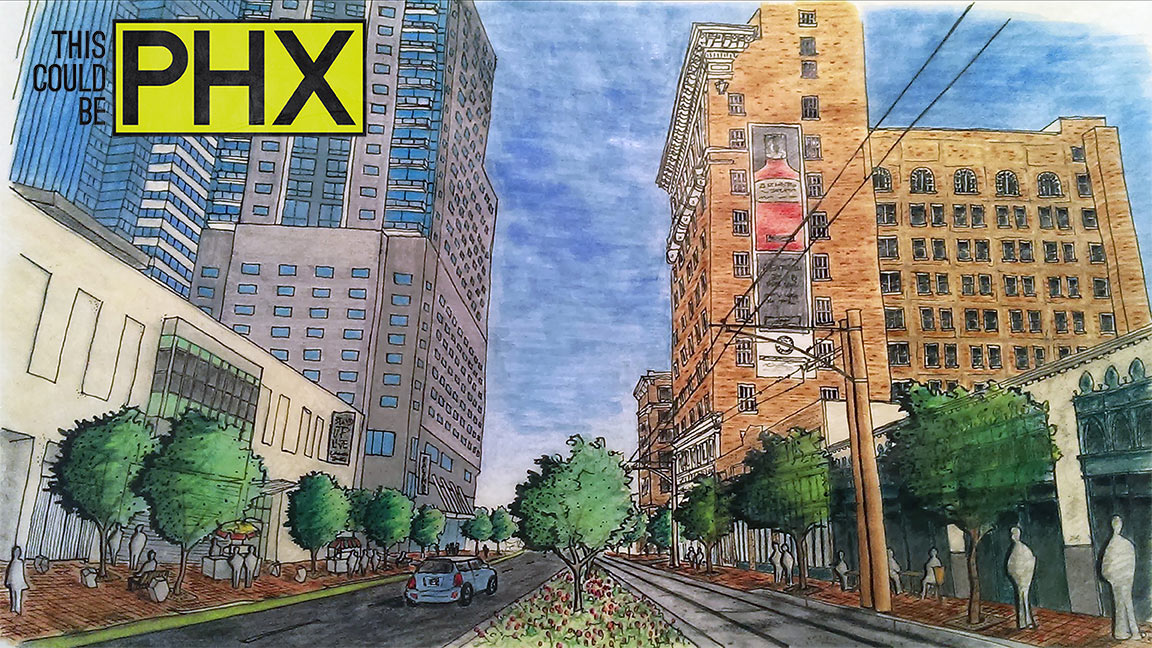 Luhrs Buildings Streetscape Redesign
