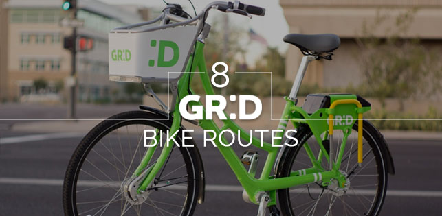 Grid Bike Share routes