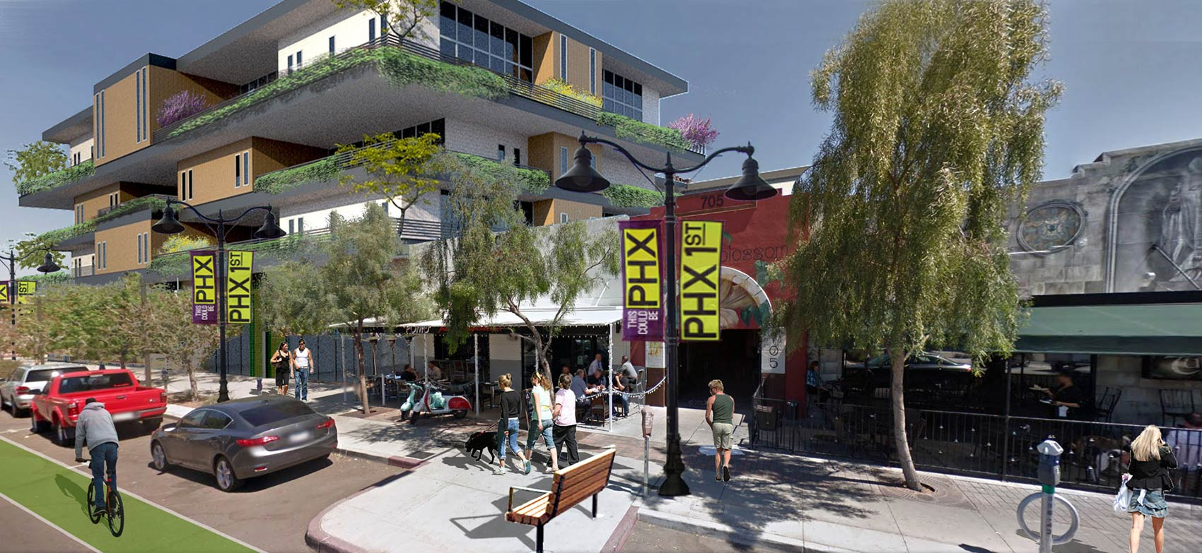Phoenix 1st Street Downtown