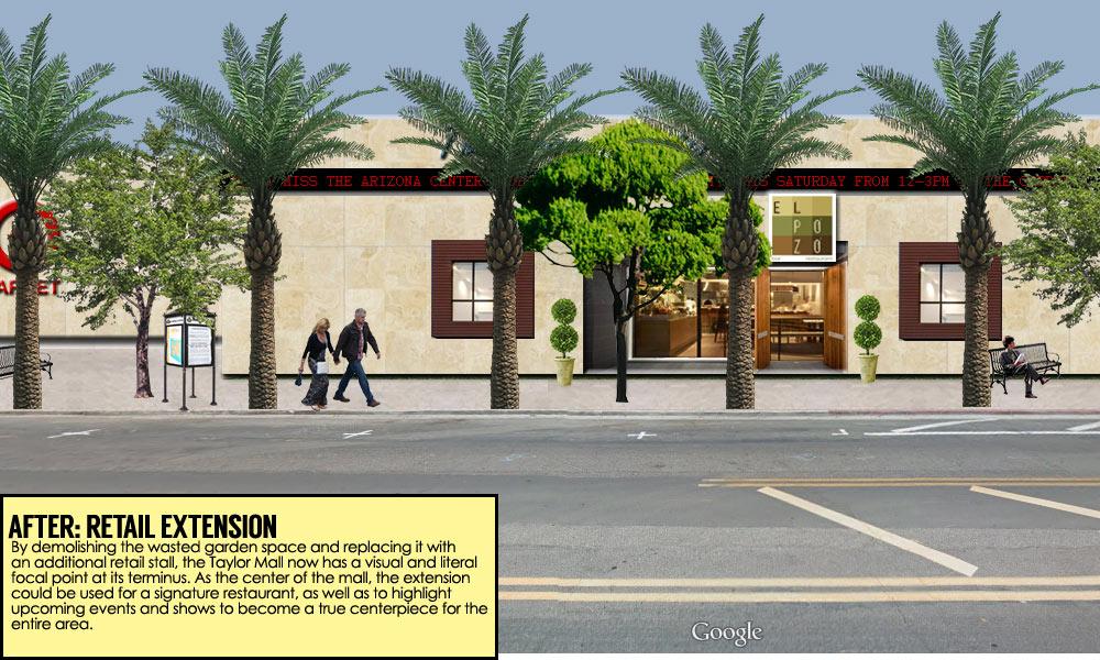 Warehouse District Phoenix redesign