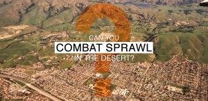 Combat sprawl in the desert