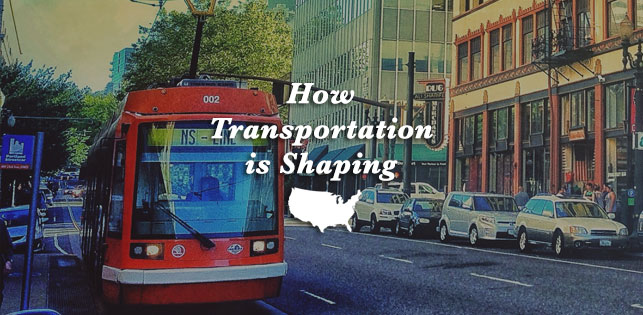 Transportation shapes america