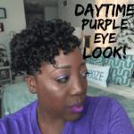 How to: Daytime Purple Eye Look
