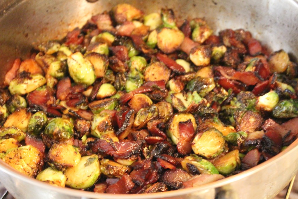 Thanksgiving, recipe, cooking, food, Brussels Sprouts, Bacon, foodie, Chef Janae, Lifestyle Blog, Food Blog,