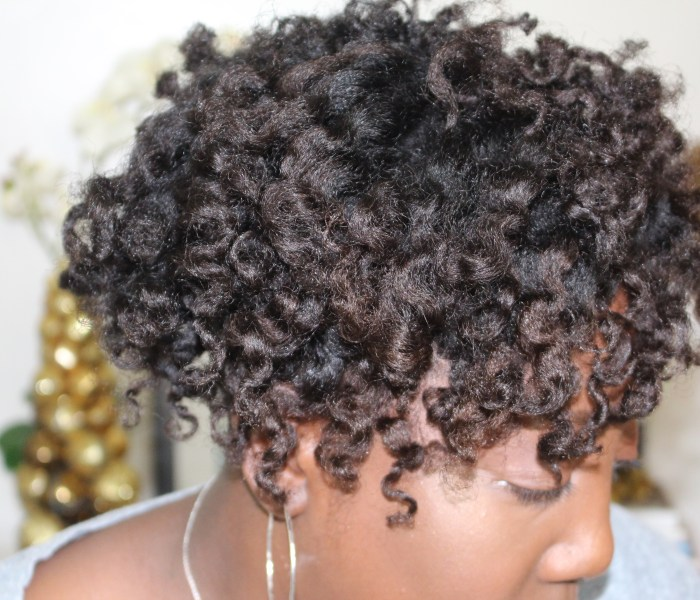 Defined Twist-Out with Inspired Beauty