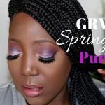 GRWM: Springtime Purple