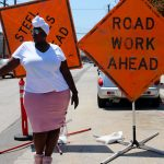 Style: Road Work Ahead