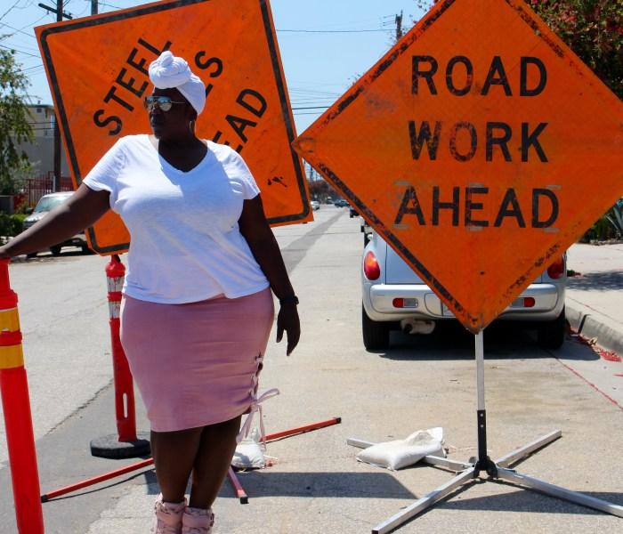 Style: Road Work Ahead
