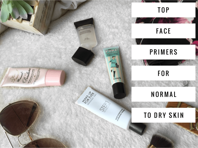Top Face Primers for Normal to Dry skin