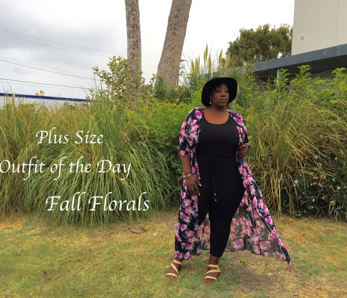 Plus Size OOTD // Fall Florals