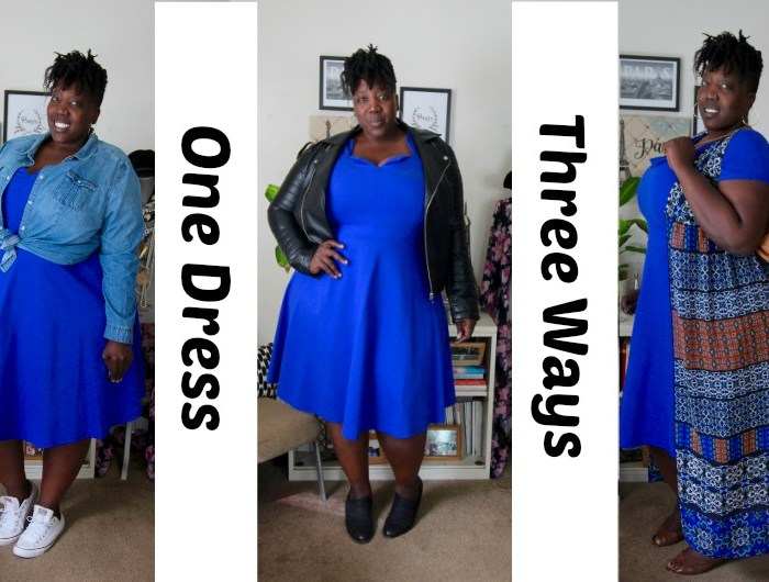 One Dress Three Ways – Fit N' Flare