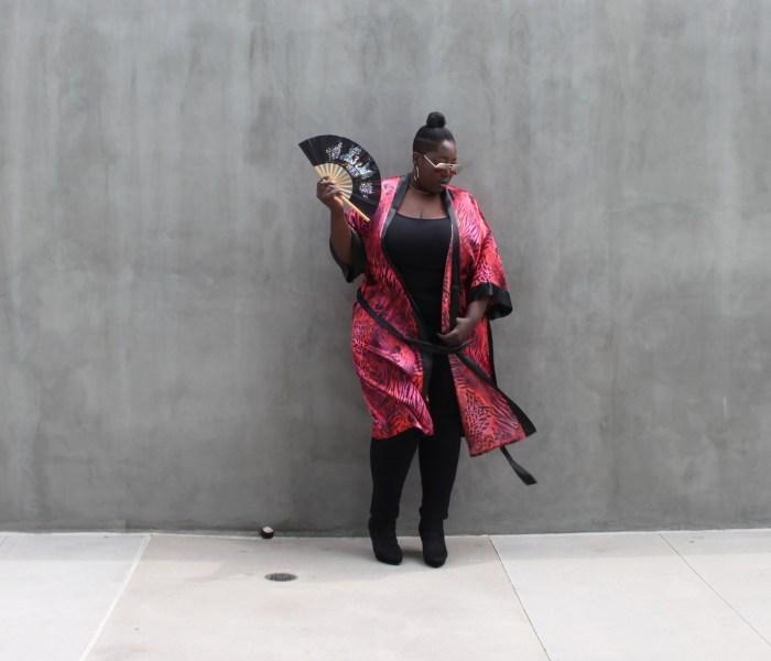 Plus Size Style: Kimono Found