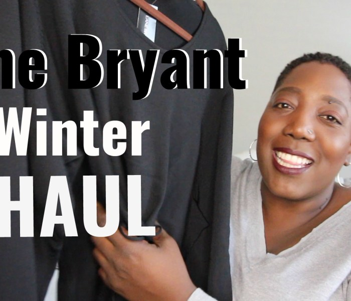 YouTube // Lane Bryant Winter Haul