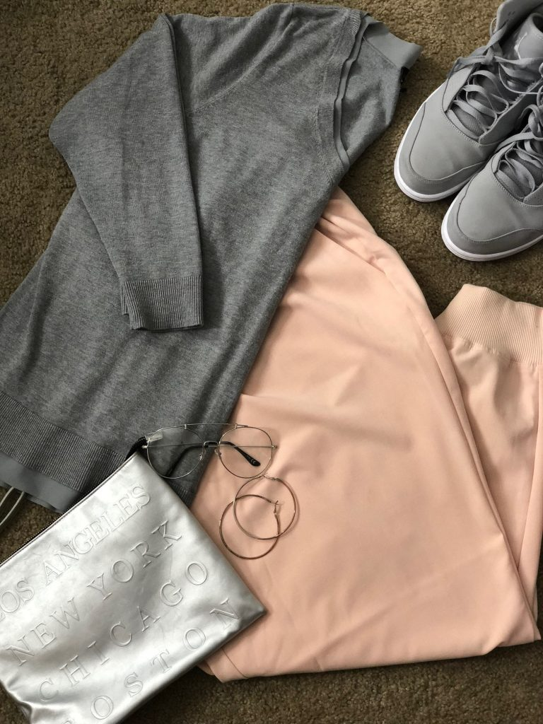 Boardroom Style, Lane Bryant, Joggers, Fall Outfit, Outfit of the Day, Plus Size Fashion, Fashion, Style, Over 40, Over 40 Style,