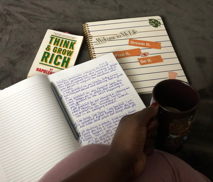 Day 1: Think and Grow Rich