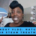 YouTube // Sunday – At Home Hair Steam Treatment