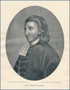 Thomas Boston [1676-1732]