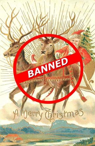 Christmas Banned