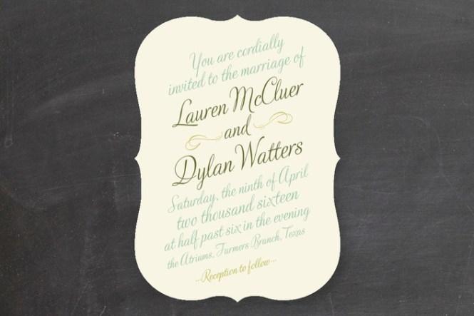 Fairytale Wedding Invitation Card Ideas