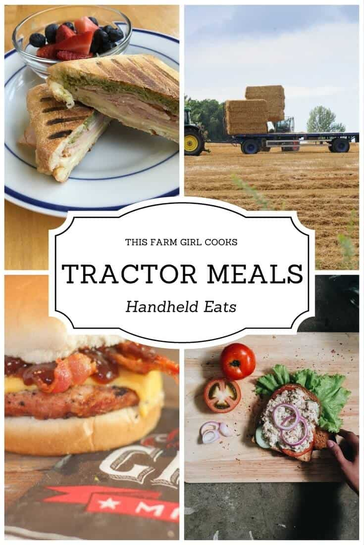 Tractor Meals - 21 Handheld Sandwiches | This Farm Girl Cooks