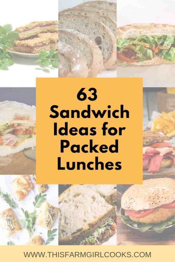 63 easy sandwich ideas for lunch
