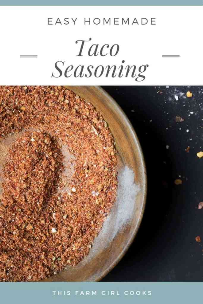 easy homemade taco seasoning spices