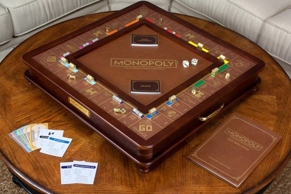 luxury gifts for him monopoly